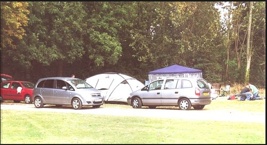 Easy Access pitches at Broad Farm Holiday park