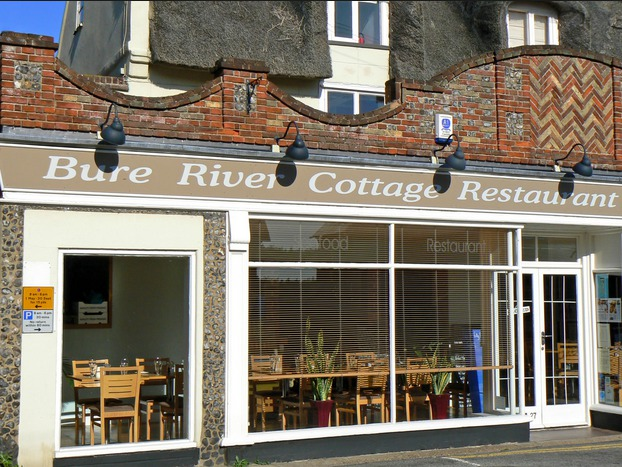 Bure River Cottage Restaurant in Horning on the Norfolk Broads