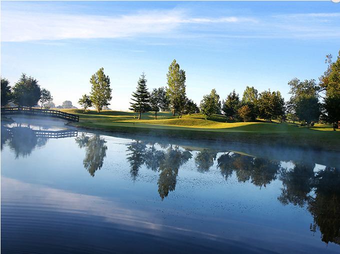 Lake at Dunston Hall Golf Club