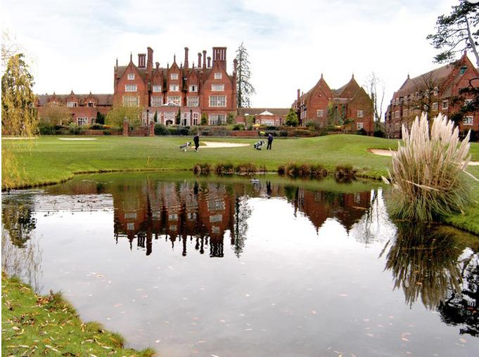 View of Dunston Hall Golf Club