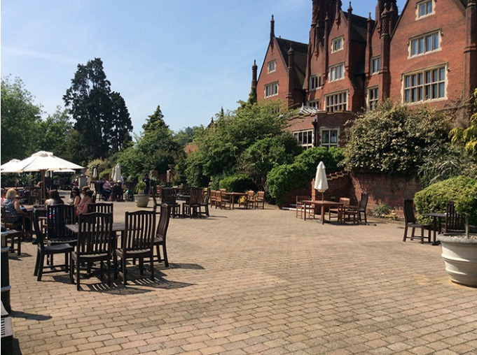 Dunston Hall Hotel Patio