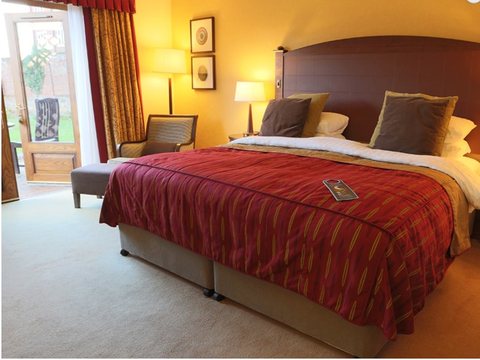 Dunston Hall Hotel Bedroom