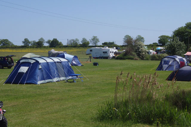 Camping at Field Farm