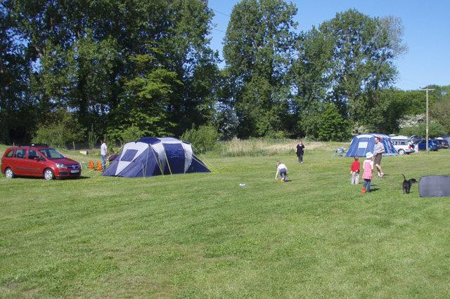 Camping at Field Farm