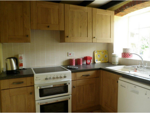 Kitchen at Glebe Barn Woodbastwick