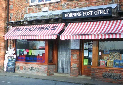 Louises Butchers and Deli Shop front