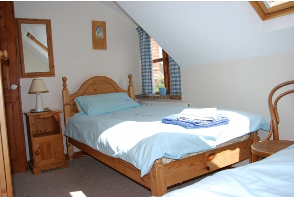 Double Bedroom at Kingsley Cottage