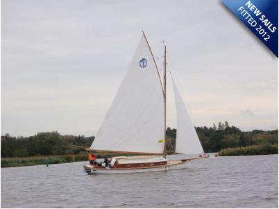 Traditional Sailing Cruiser