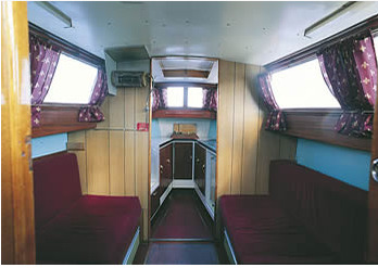 Martham Boats Cruiser Interior