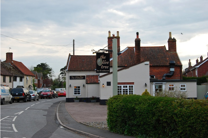 The Olive Tree in Bungay