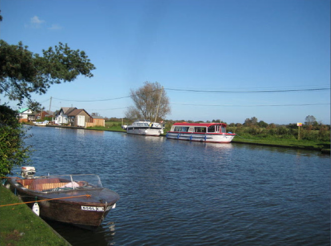 The River Thurne in all its beauty