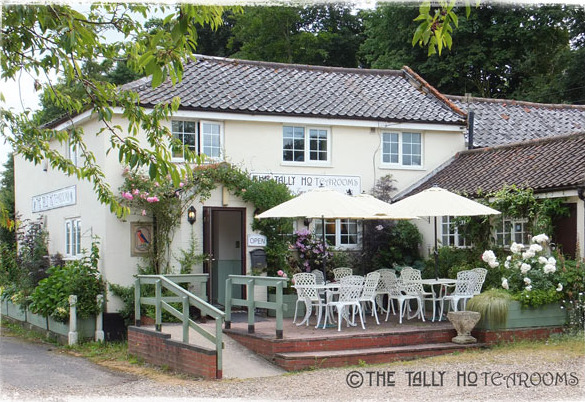 Tally Ho Tea Rooms in Bungay