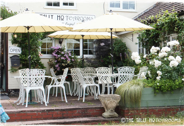 Tally Ho Tea Rooms Al-fresco Dining