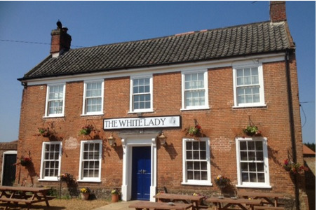 The White Lady Worstead