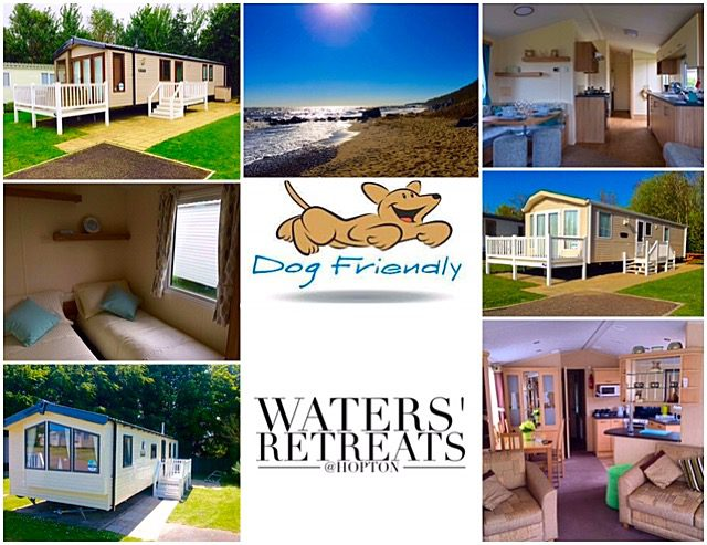 Dog Friendly accommodation at Waters Retreat Caravans in Hopton