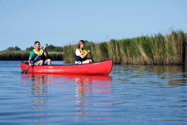 Canoeing on the River Waveney