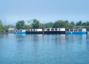 Houseboats in Hickling