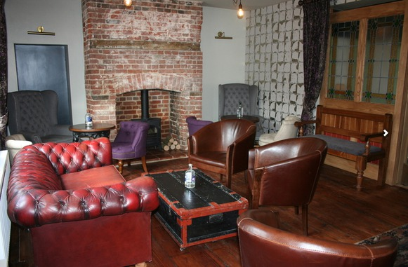 Comfortable seating area in White Horse