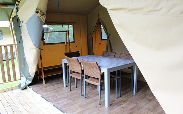 Safari Tents at Wild Duck Haven