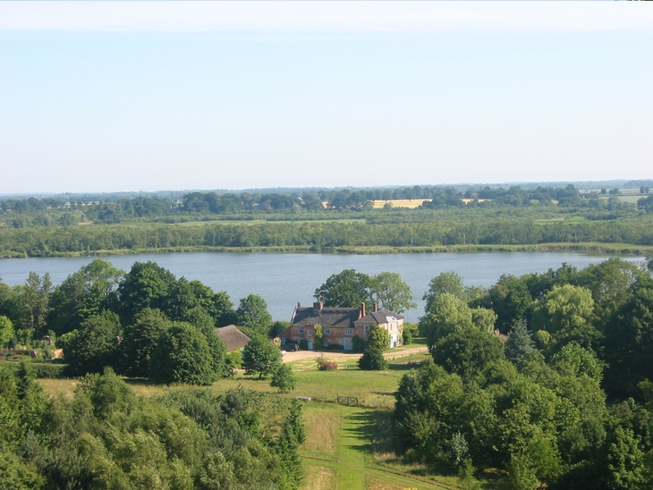 View from Ranworth church of the River Bure