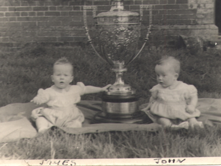 Twins And Gold Cup