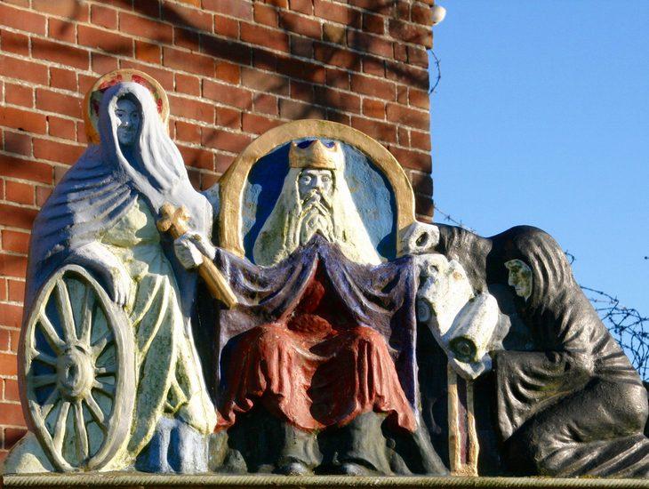 Pilgrims To St Benets Abbey Ludham