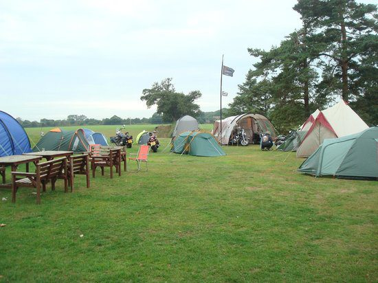 Camping At Salhouse Lodge