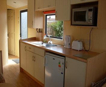 Grasmere Van Kitchen