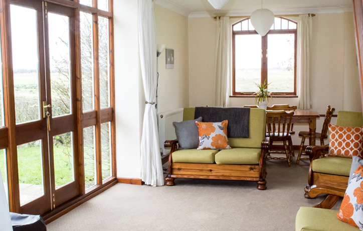 Living Area At Hall Farm Cottages