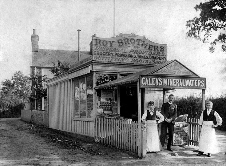 First Wroxham Roys Store 1899 Web