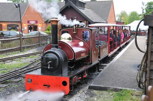 Ride a steam Train