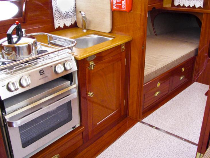 Fitted Galley