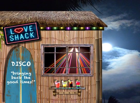 Love Shack Disco Image