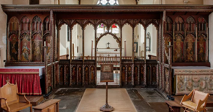Ranworth Church Rood Screen