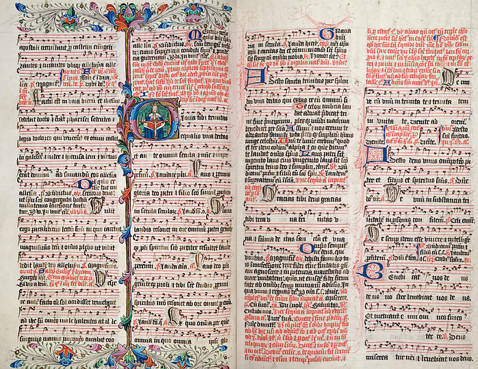 Ranworth Church Antiphoner