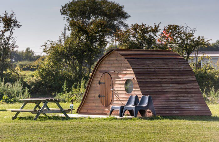 Glamping Pod at The Hollies