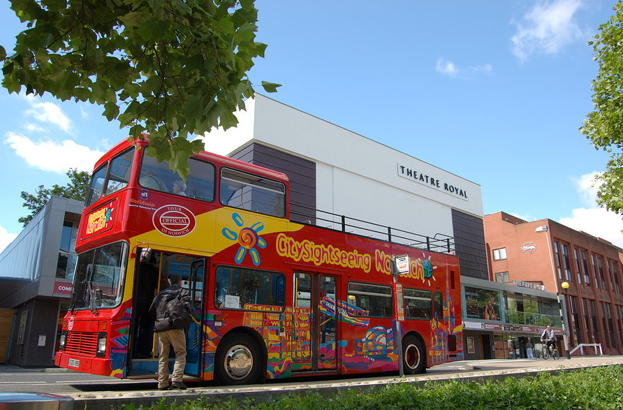 Open Top Bus Tours of Norwich