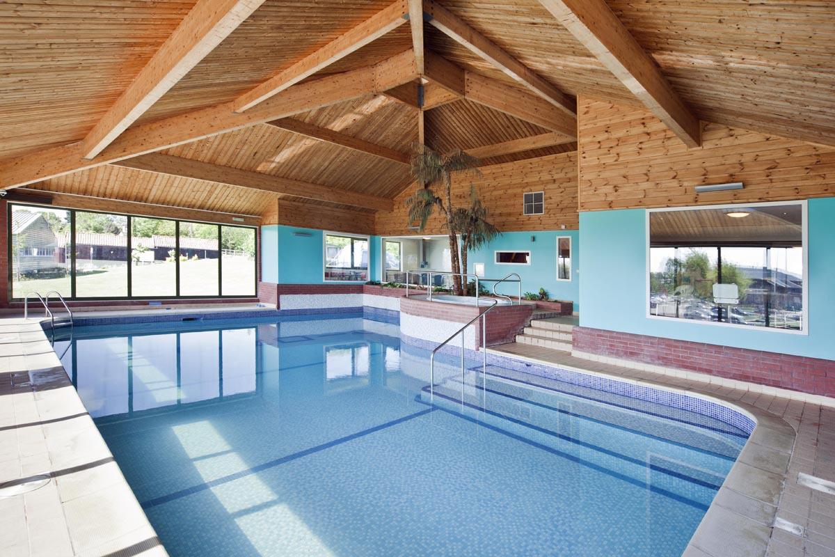 Waveney River Centre indoor heated pool
