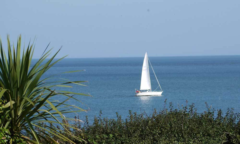 Sail boat paradise off the Norfolk coast