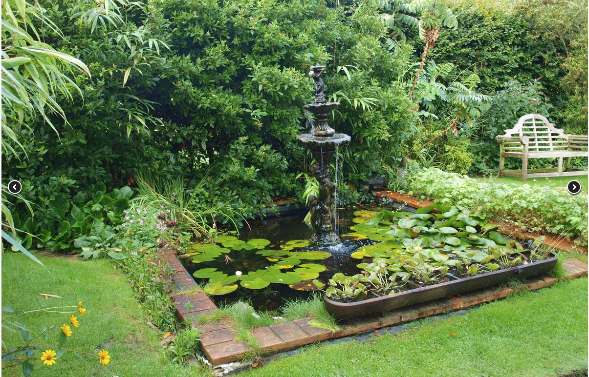 Beechwood Hotel gardens