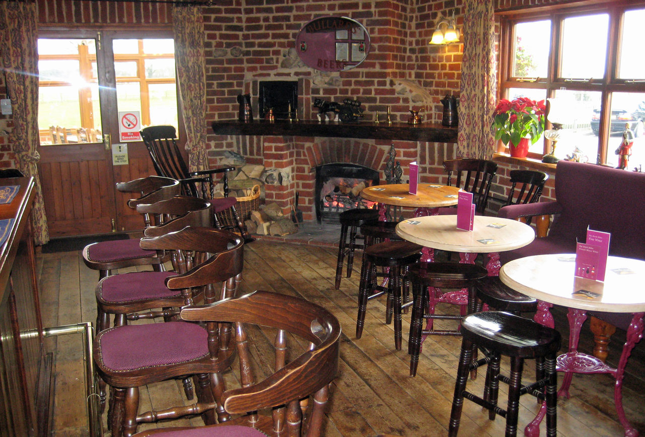 Bar at The Brick Kilns