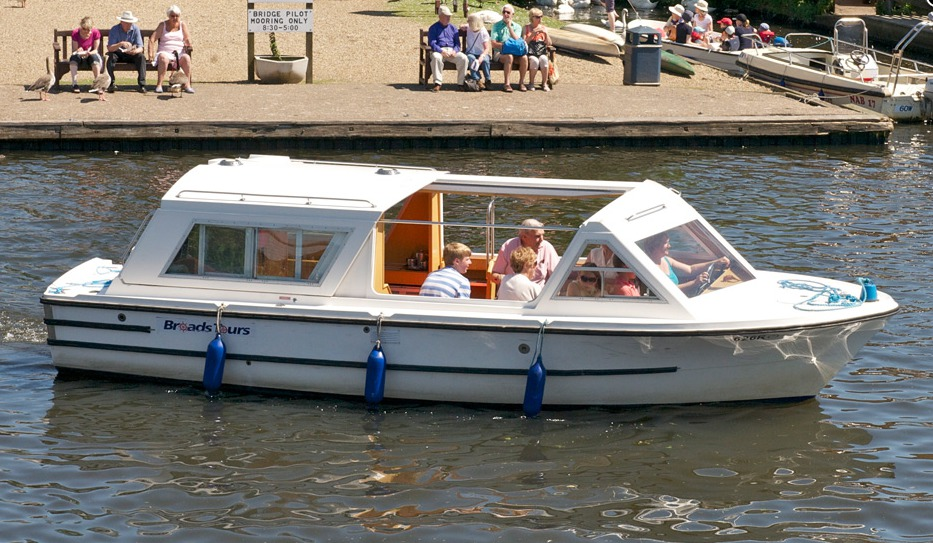 Broads Tours Picnic Boat