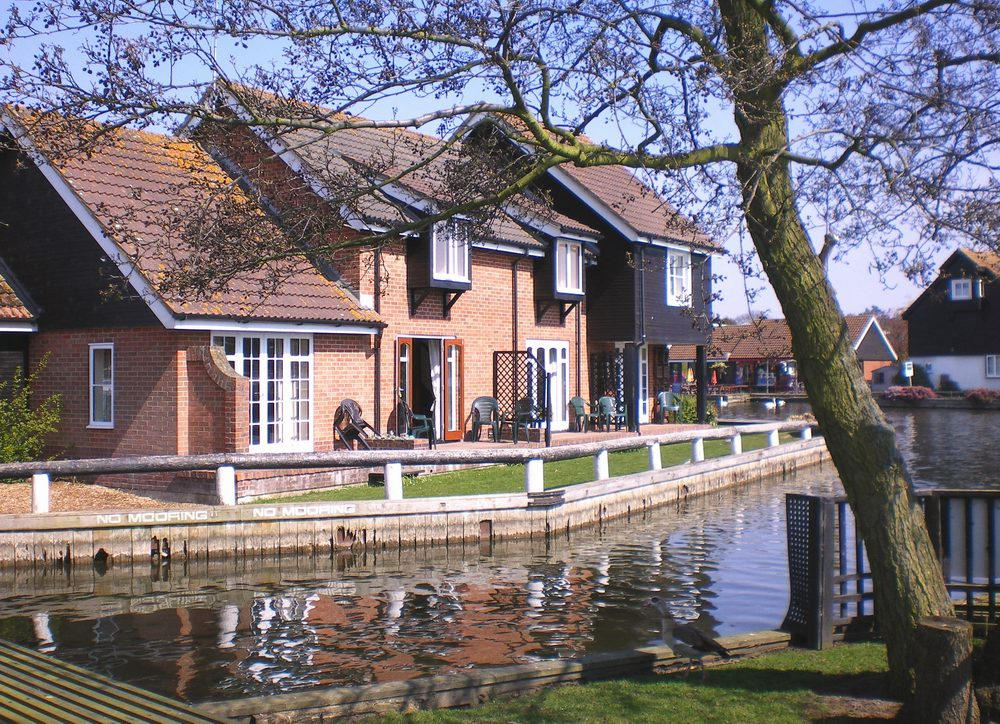 Bure Cottage in Wroxham on the Norfolk Broads