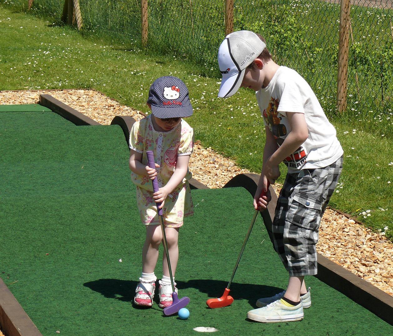 Crazy Golf at Eaton Park