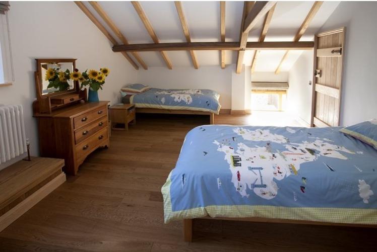 Eco Barn Lighthouse Bedroom