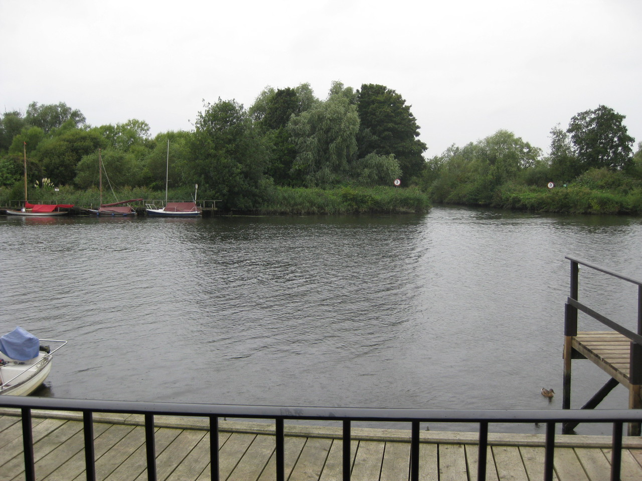 River View from Moonshine Lodge Brundall