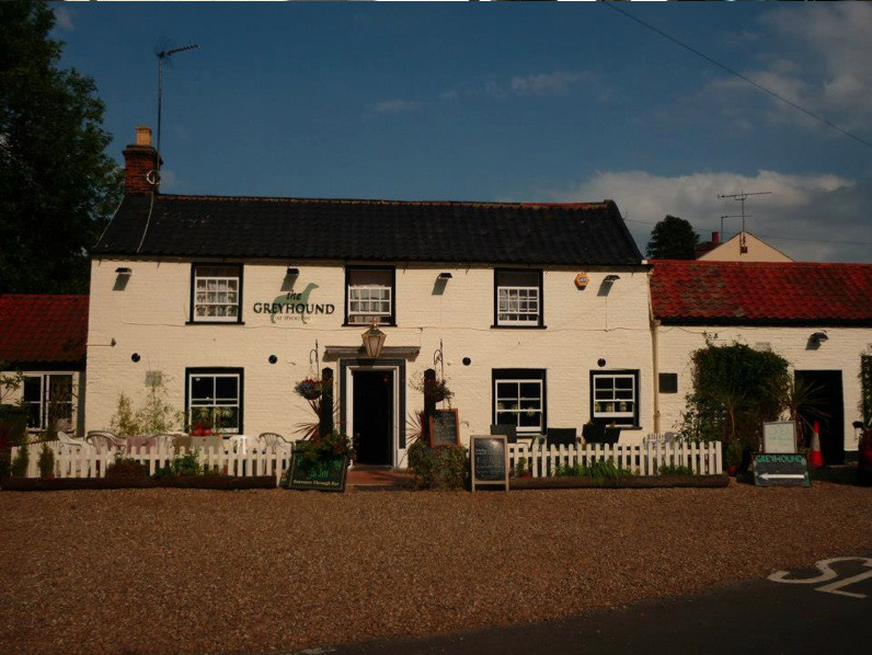 The Greyhound Inn in Hickling