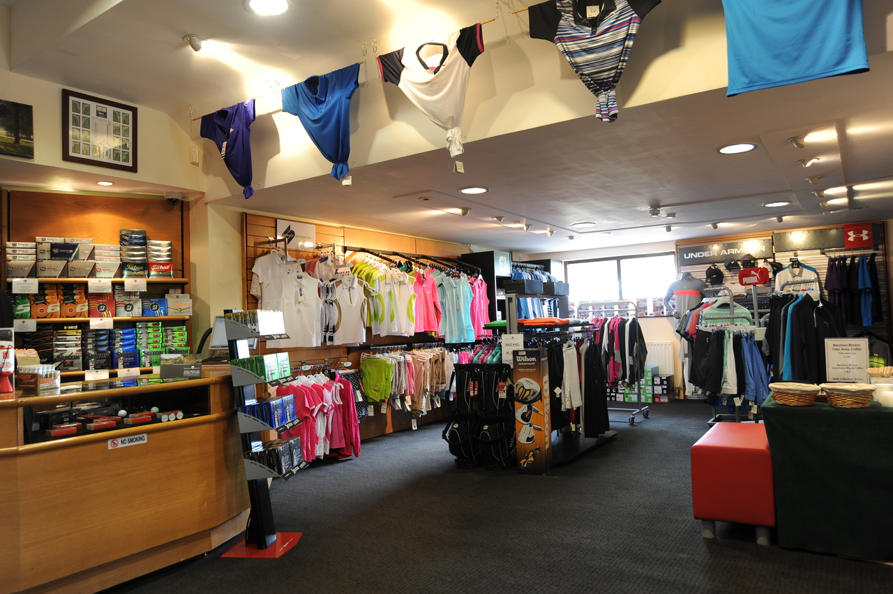 Golf Shop at Barnham Broom