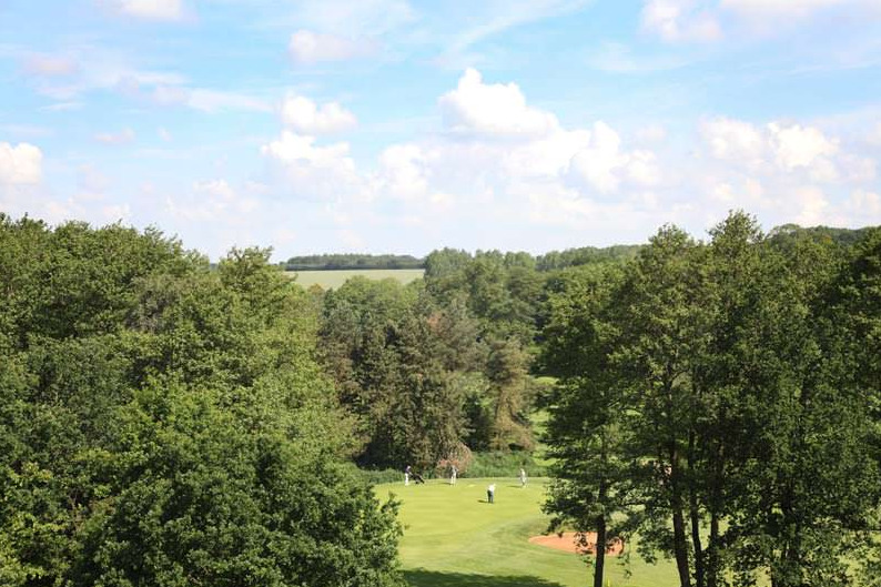 View from the 7th Tee on the Valley Course at Barnham Broom