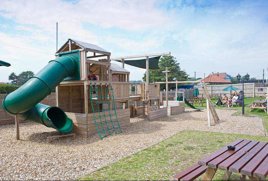 Adventure Playground at The Lacon Arms